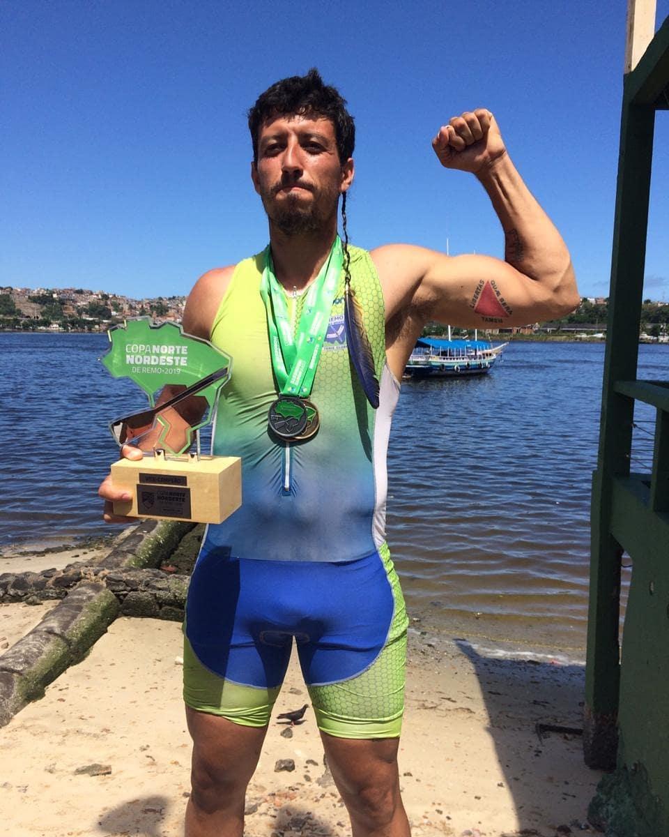 Christian Cortês - atleta sênior destaque do campeonato brasiliense